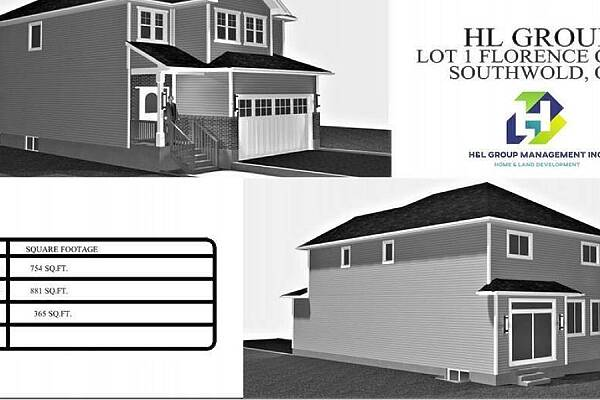 Lot #1 Florence Court Ct, Southwold, Ontario